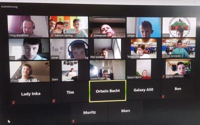 Videokonferenz des Hessenkaders!