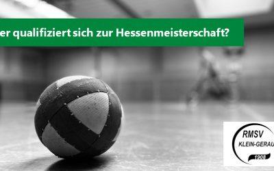 Entscheidung am Sonntag:  Wer fährt zur U11 Hessenmeisterschaft 2020?