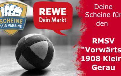 """""""Scheine für Vereine"""": Unterstütze den RMSV """"Vorwärts"""" 1908 Klein-Gerau!"""