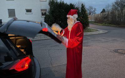 RMSV-Weihnachtsmann unterwegs in Klein-Gerau und Worfelden