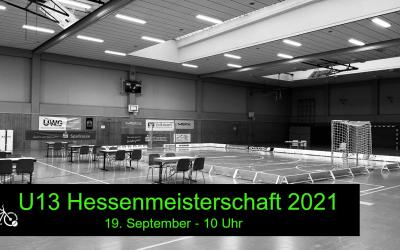 U13 Radball Hessenmeisterschaft im Livestream: Sonntag 19.9. um 10 Uhr